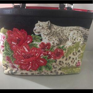 Beautiful Vintage Isabella Flore Tote Bag